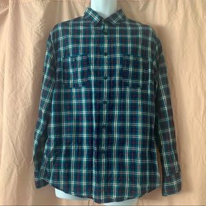 Mossimo Supply Co Athletic Flannel Shirt